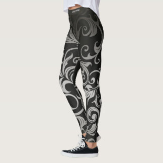 Adore womens shadow floral leggings