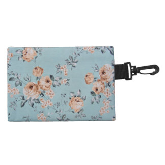Adoring Flowers - Clip On Accessory Bag