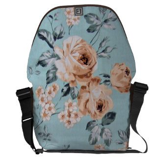 Adoring Flowers - Large Bag 12x21x9 Messenger Bag