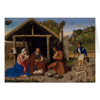 Adoring Shepherds Card