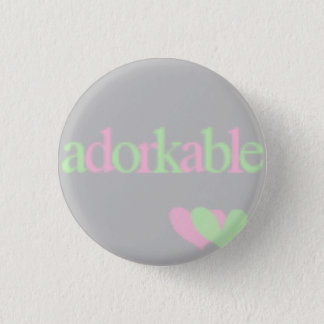 adorkable 1 inch round button