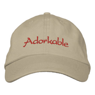 Adorkable Embroidered Hat