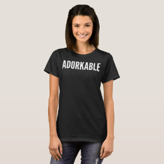 Adorkable Typography T-Shirt