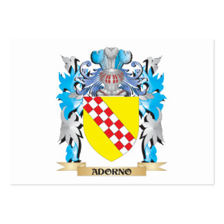Adorno Coat Of Arms Business Card Template