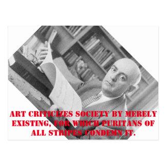 Adorno postcard