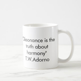 Adorno Quote Mug