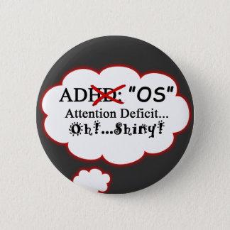 ADOS Shirt 2 Inch Round Button