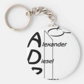 adp[2] basic round button keychain