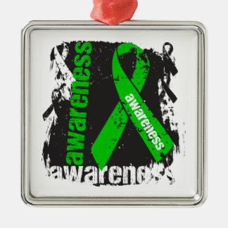 Adrenal Cancer Awareness Ornament