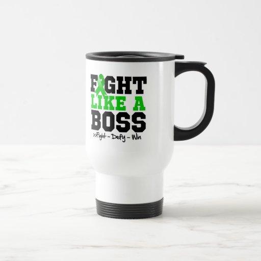 Adrenal Cancer Fight Like a Boss Coffee Mugs