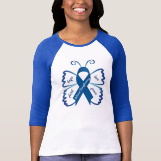 Adrenal Insufficiency Butterfly T-Shirt