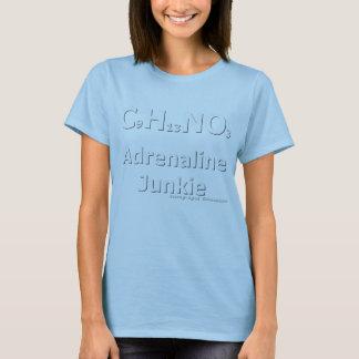 Adrenaline Junkie White (rec. for dark colours) T-Shirt