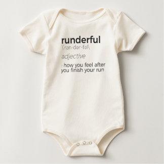 Adrenaline Rush Runner's High Running Is Life Run Baby Bodysuit