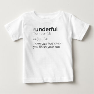 Adrenaline Rush Runner's High Running Is Life Run Baby T-Shirt