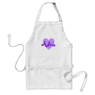 Adria in Purple Standard Apron