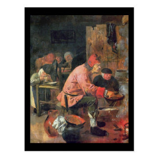 Adriaen Brouwer Pancake Postcard