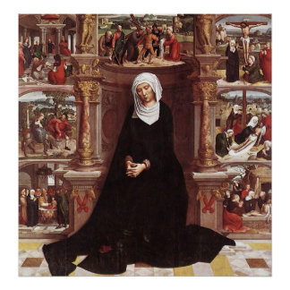 Adriaen Isenbrandt  Our Lady of the Seven Sorrows Poster