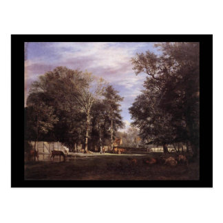 Adriaen van de Velde The Farm Postcard