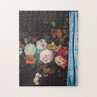 Adriaen Van Der Spelt - Still Life With A Flower Jigsaw Puzzle