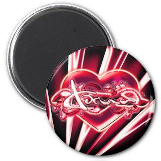 Adrian 2 Inch Round Magnet