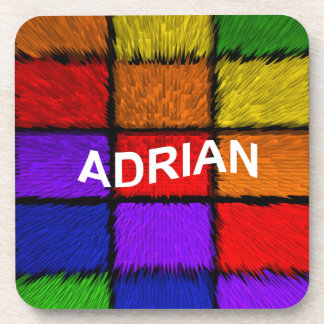 ADRIAN ( female names ) Beverage Coasters