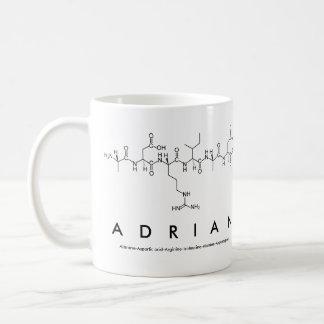 Adrian peptide name mug