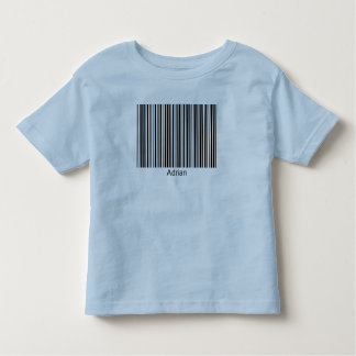 Adrian Personalized Functional Barcode Tee
