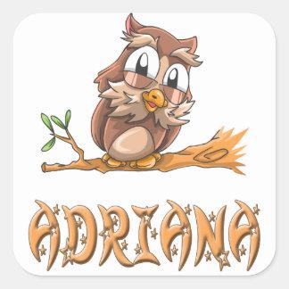Adriana Owl Sticker