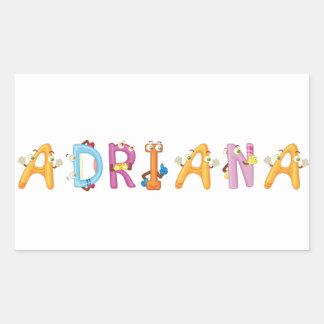 Adriana Sticker
