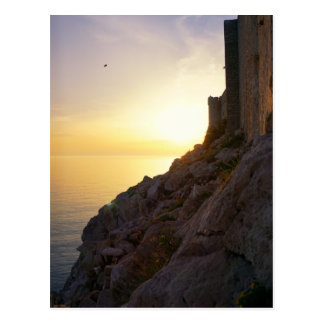 Adriatic Sunset Postcard