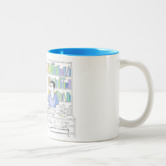 Adrien and Jake coloring book mug (without quote)