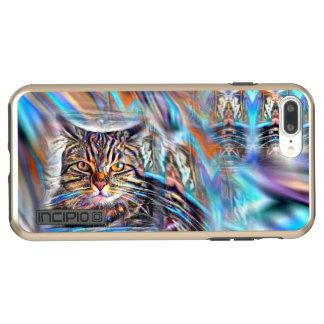 Adrift in Colors Tropical Sunset Cat Incipio DualPro Shine iPhone 8 Plus/7 Plus Case