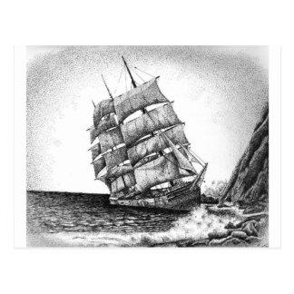 Adrift Postcard
