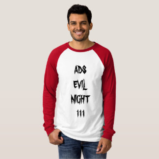 ads evil night111 SUBSCRIBE SHIRT