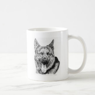 adul German shepherd Coffee Mug