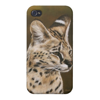 Adult African Serval IPod case