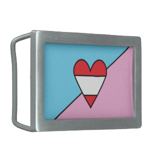Adult Age Play Pride Flag Belt Buckle