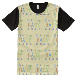 Adult Baby | Baby tile | Baby 4 Life All-Over-Print T-Shirt
