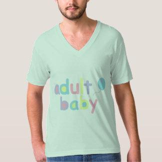 Adult Baby V-Neck T-Shirt