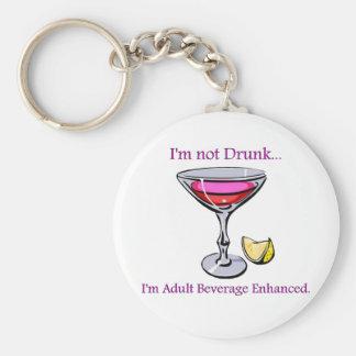 Adult Beverage Enhanced Keychain