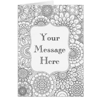 Awesome coloring greeting cards gallery new coloring pages adult colouring cards adult colouring greeting cards adult m4hsunfo