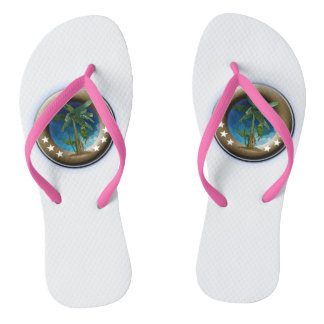 Adult Custom, fine strips Flip Flops
