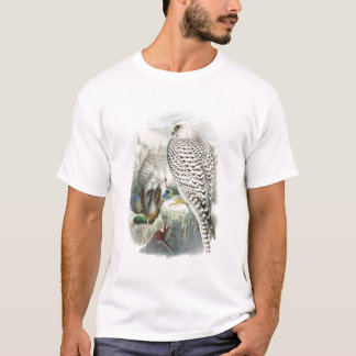Adult Dark Greenland Falcon Birds of Great Britain T-Shirt