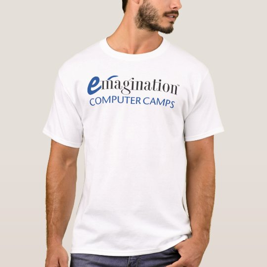 Adult Emagination Computer Camp Logo T-shirt