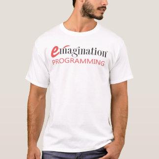 Adult Emagination Programming Logo T-shirt