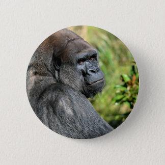 Adult Gorilla 2 Inch Round Button
