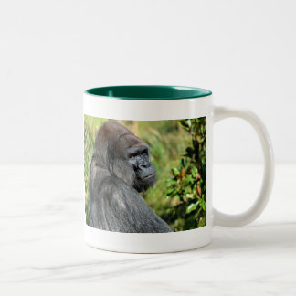 Adult Gorilla Two-Tone Coffee Mug