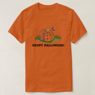 Adult Halloween Pumpkin Shirt