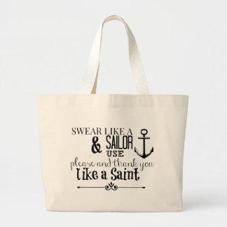 Adult Humor: Swear Like A Sailor Tote