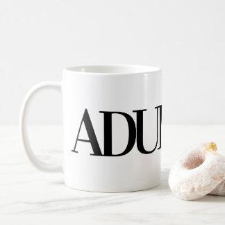 ADULT-ISH COFFEE MUG